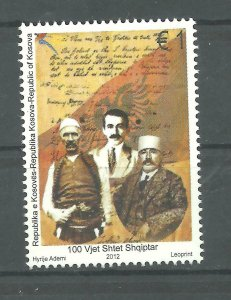 KOSOVO 2012  100 Years Independence Albania SET