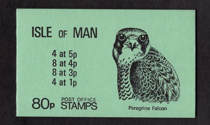 Isle of Man  #190a  1980 MNH  booklet