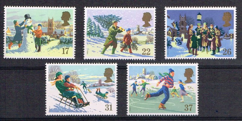 Great Britain Christmas 1340-44
