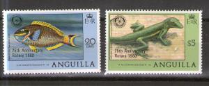 Anguilla 389-390 MNH
