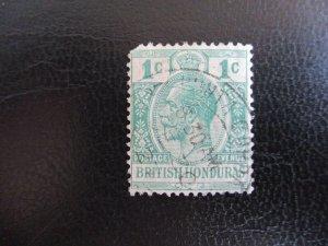 British Honduras #91 Used (M7Q1) - Stamp Lives Matter!