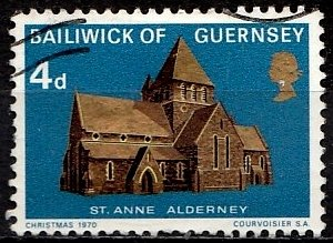 Guernsey 1970 SG. 40 used (10814)