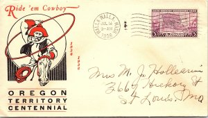 United States, Washington, First Day Cover