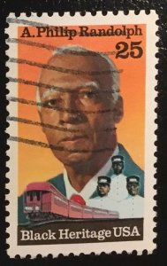 US #2402 Used F - A. Philip Randolph Black Heritage