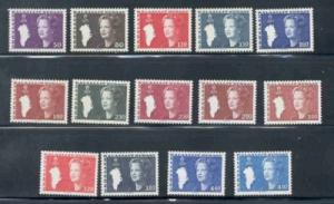 Greenland Sc 120-33 1980-1980 Queen long stamp set mint NH