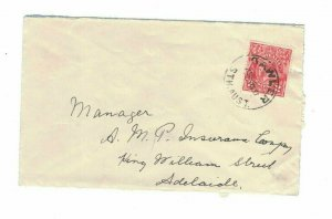 APH1483) Australia 1931 2d Red KGV Die I Small Cover