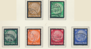 Germany Stamps Scott #436 To 441, Used - Free U.S. Shipping, Free Worldwide S...