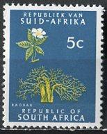 South Africa; 1968; Scott # 333; **/MNH; Single Stamp