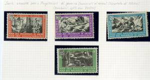 Belgium Legion Stamps VF HINGED Legion Set Of 4 War