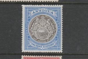 Antigua 1903/07 2 1/2d Grey Black & blue Fresh MM