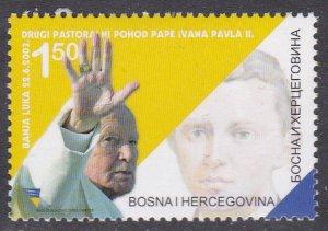 Bosnia & Herzegovina (Croat Admin) Sc #105 MNH Pope John Paul II