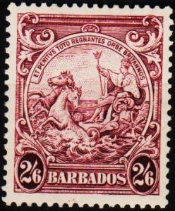 Barbados. 1938 2s6d  S.G.256 Mounted Mint