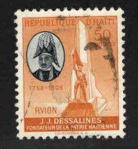 Haiti  Scott C112 Used stamp