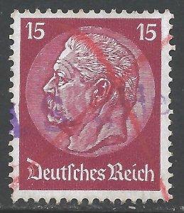 GERMANY 394 VFU L572-3