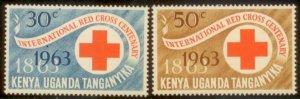 KUT 1963 SC# 142-3 MNH L156