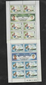 SEYCHELLES-ZES #23-24,27-28   1983 ROYAL WEDDING     MINT VF NH O.G   M/S