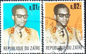 Zaire #773-778    Used Set