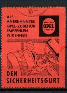 Germany Opel Advertising Label