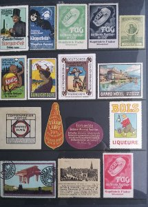 World Exhibition, Convention, Stamp Show, Poster, Label stamp Collection LOT#Q15