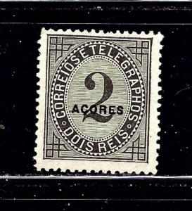 Azores P3 MH 1885 issue