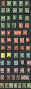 St Helena Selection of QV mint of used (63 stamps)
