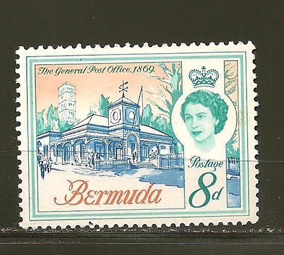 Bermuda 181 Post Office Mint Hinged
