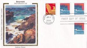 2004, Seacoast, Colorano Silk,  FDC (E11890)
