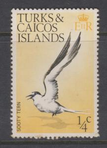 Turks and Caicos 1973 1/4d Sc#265 Mint