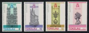 Tokelau 25th Anniversary of Coronation 4v SG#61-64 SC#61-64