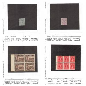 Lot of 40 Jamaica MNH Mint Stamps Scott Range 16-382, 628a, 857-860 #142868 R