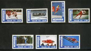 NICARAGUA 1918-1924 MNH SCV $4.75 BIN $2.50 OLYMPICS
