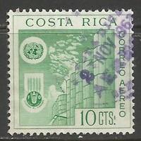 COSTA RICA C321 VFU UN FAO Z1405-4