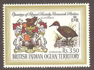 British Indian Ocean Territory 43 Mint VF NH