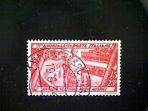 Stamps,Italy, Scott #305, used (o), 1932, 10th Ann of March