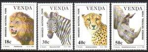 1990 Venda 200-203 Fauna 6,00 €