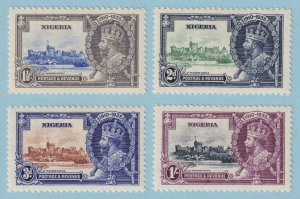 NIGERIA 34 - 37  MINT HINGED OG * NO FAULTS EXTRA FINE! - V888