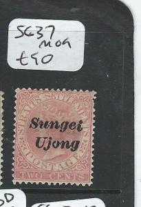 MALAYA SUNGEI UJONG (P0510B) QV 2C  SG 37  MOG
