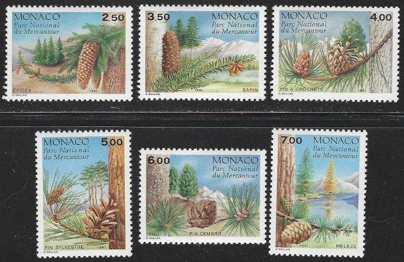 Monaco #1769-1774 MNH Full Set of 6 cv $10.75