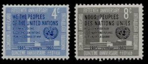 United Nations - New York 83-5 MNH UN Headquarters, Charter Preamble