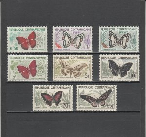 CENTRAL AFRICAN REPUBLIC *4-11 MNH 2014 SCOTT CATALOGUE VALUE $12.25