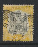 Nyasaland (British Central Africa) BCA SG 44 used