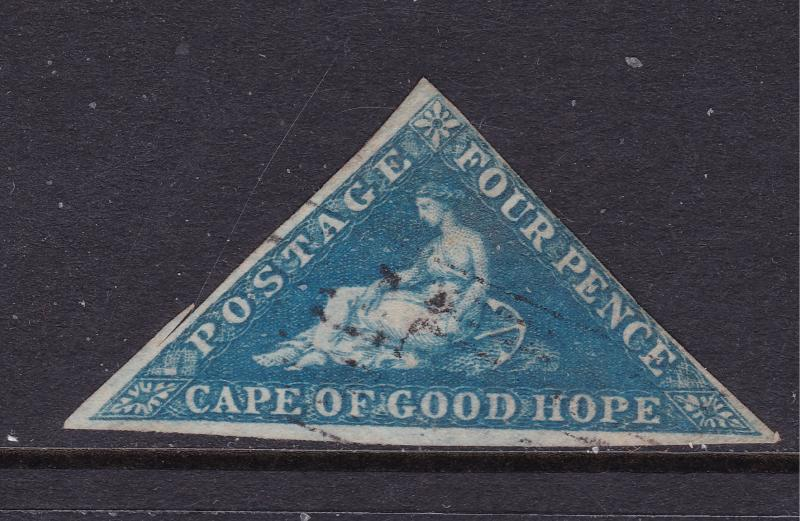 Cape of Good Hope a used 4d triangle