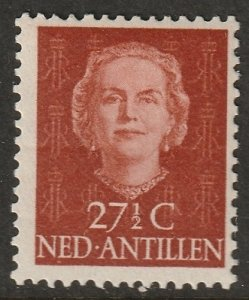 Netherlands Antilles 1950 Sc 223 MLH* crease