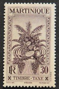 DYNAMITE Stamps: Martinique Scott #J30 – MINT hr