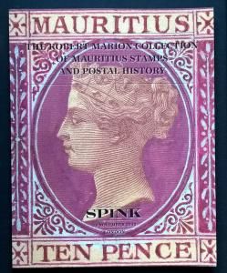 Auction Catalogue ROBERT MARION MAURITIUS Stamps & Postal History Covers