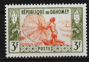 Dahomey 1961 Native Activities 3F (1/8) USED