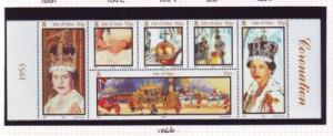 Isle of Man Sc 986 2003 Coronation QE II stamp sheet mint NH