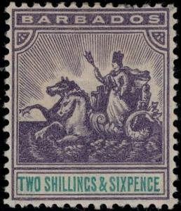 Barbados 1904 SC 101 Mint SCV $70.00