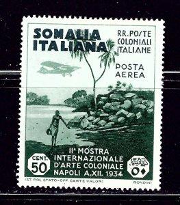 Somalia C2 MH 1934 issue