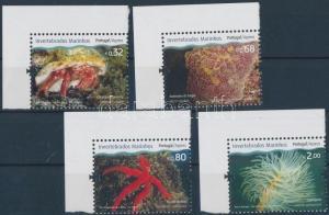 Portuguese-Azores stamp Marine Life corner set 2010 MNH Mi 563-566 WS178050